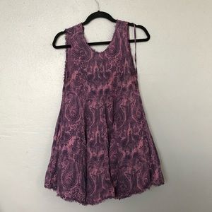 Urban outfitters purple sundress
